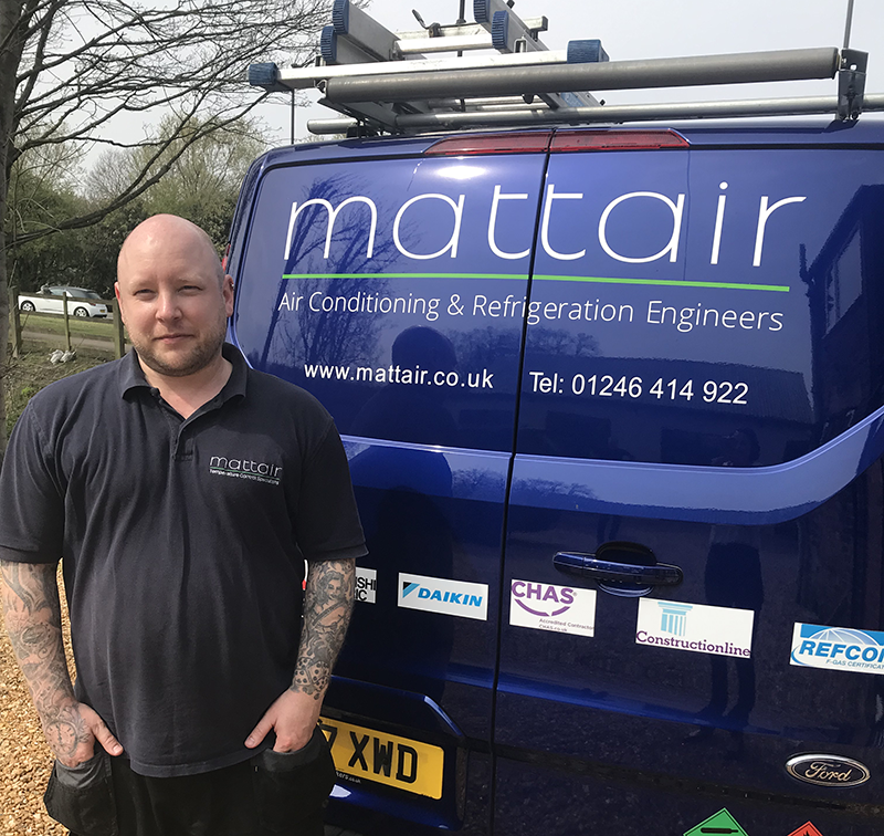 Mattair-Air-Conditioning-Sheffield-South-Yorkshire-Danny